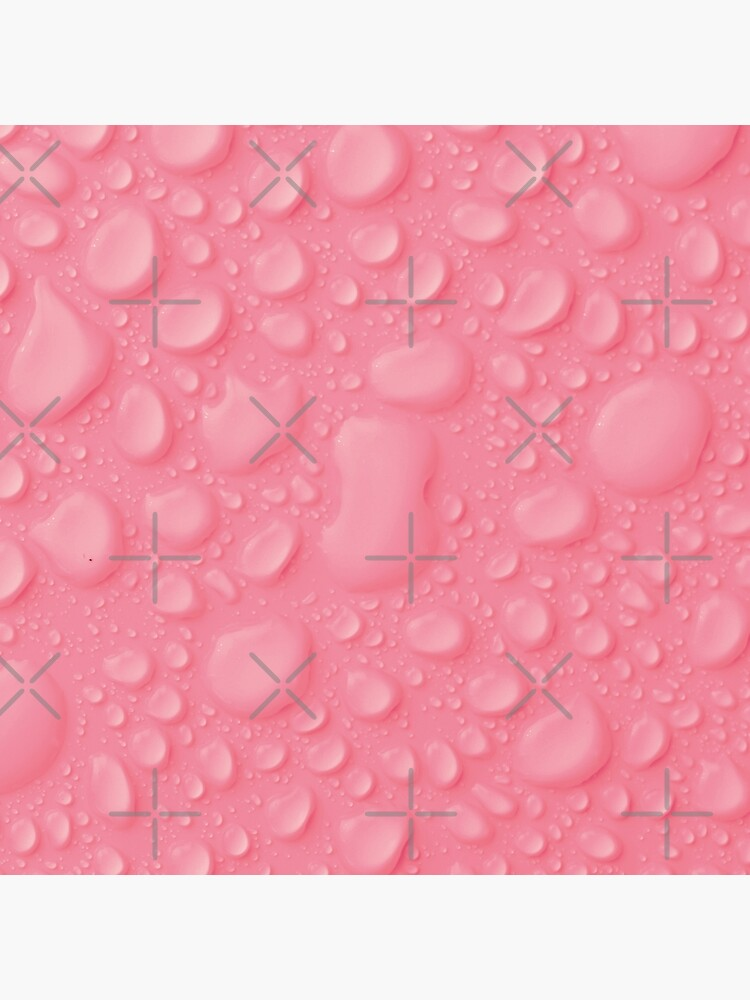 Pink waterdrops by ColorsHappiness