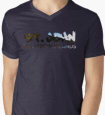 St John V Neck  Men's V-Neck T-Shirt