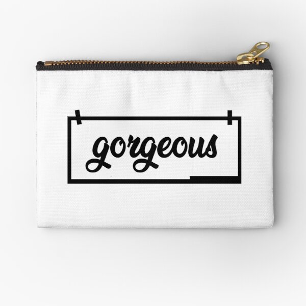 Gorgeous Style Zipper Pouch