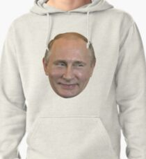 Vladimir Putin Face. Pullover Hoodie
