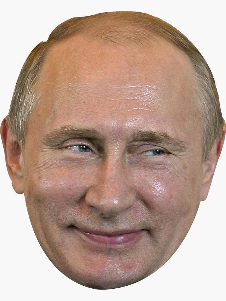 Wladimir Putin Gesicht. von Livergy