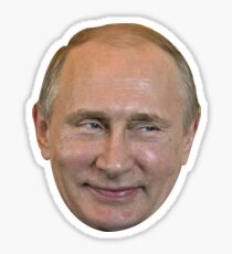 Vladimir Putin Face. Sticker