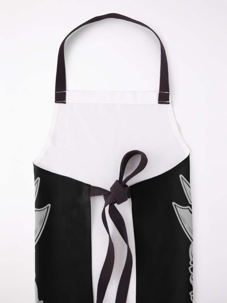 Alternate view of I Would Like To Rage Now Barbarian RPG Gamer D20 Dice Apron