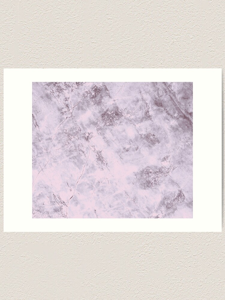Alternate view of Pink marble structure Art Print