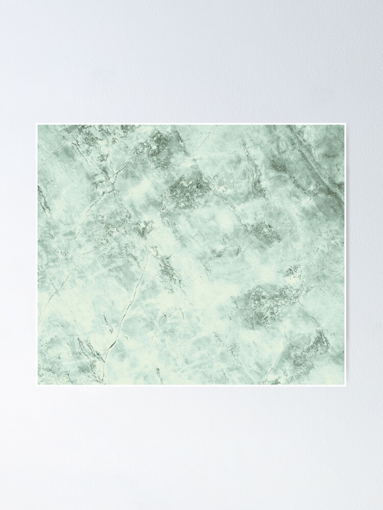 Alternate view of Green marble structure Poster