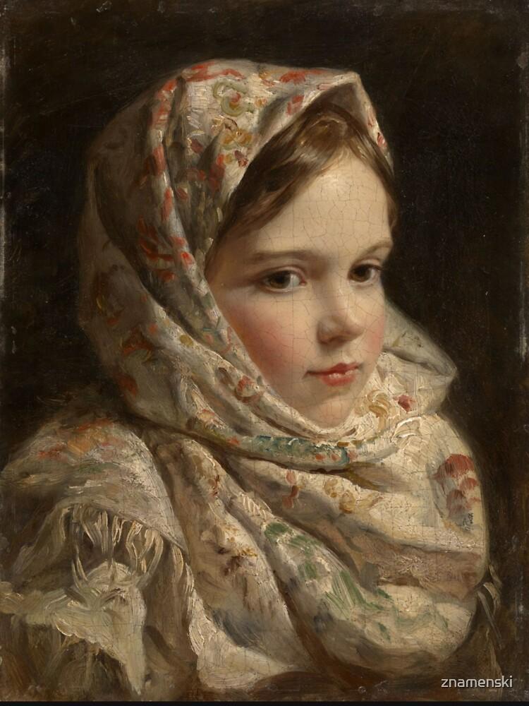 Russian Painter Oil Portrait by znamenski