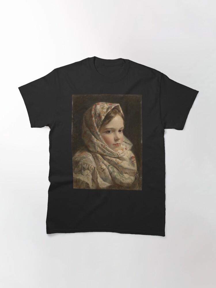 Alternate view of Russian Painter Oil Portrait Classic T-Shirt