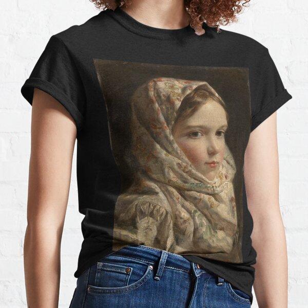 Russian Painter Oil Portrait Classic T-Shirt