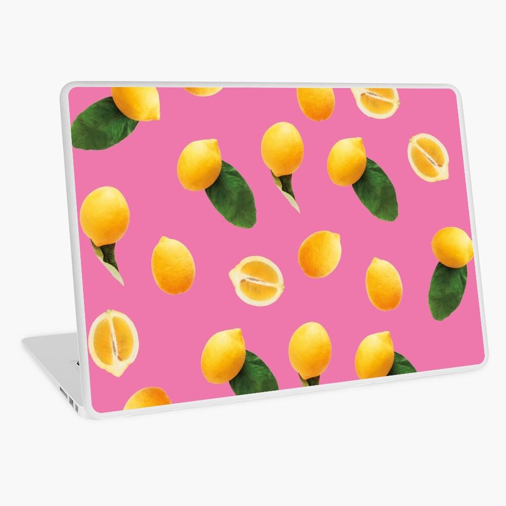 Pattern lemon party Laptop Skin