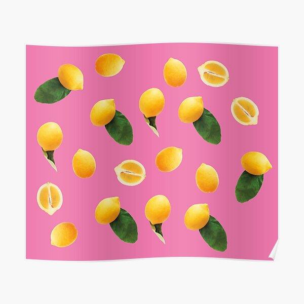 Pattern lemon party Poster