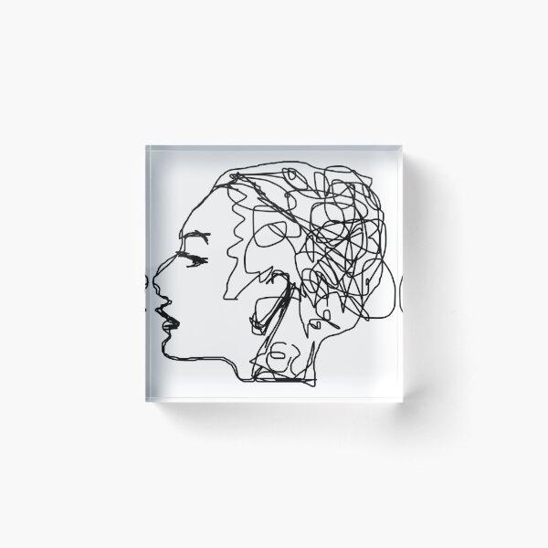 Psychology Acrylic Block