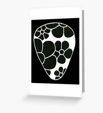Plectrum 2 inverted Greeting Card