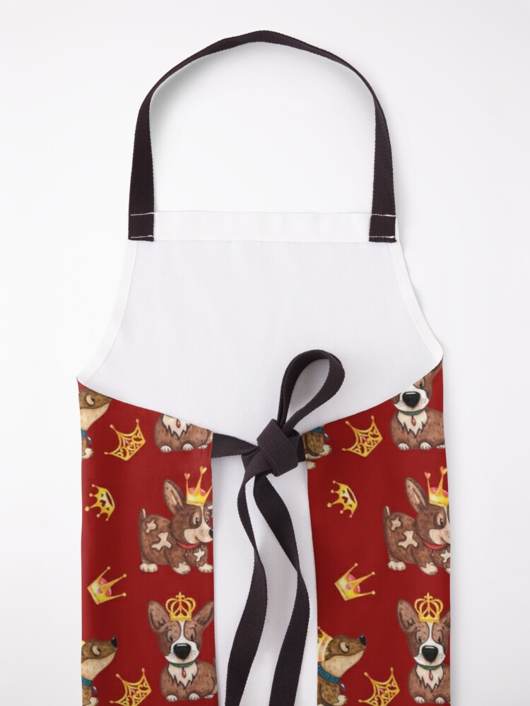 Alternate view of Corgi Kingdom Apron