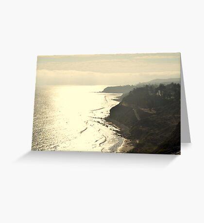 Paseo Del Mar Greeting Card