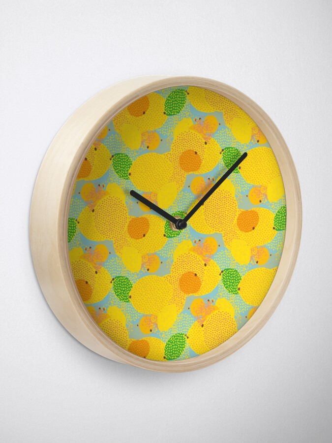 Alternate view of Squeezed Mix Clock