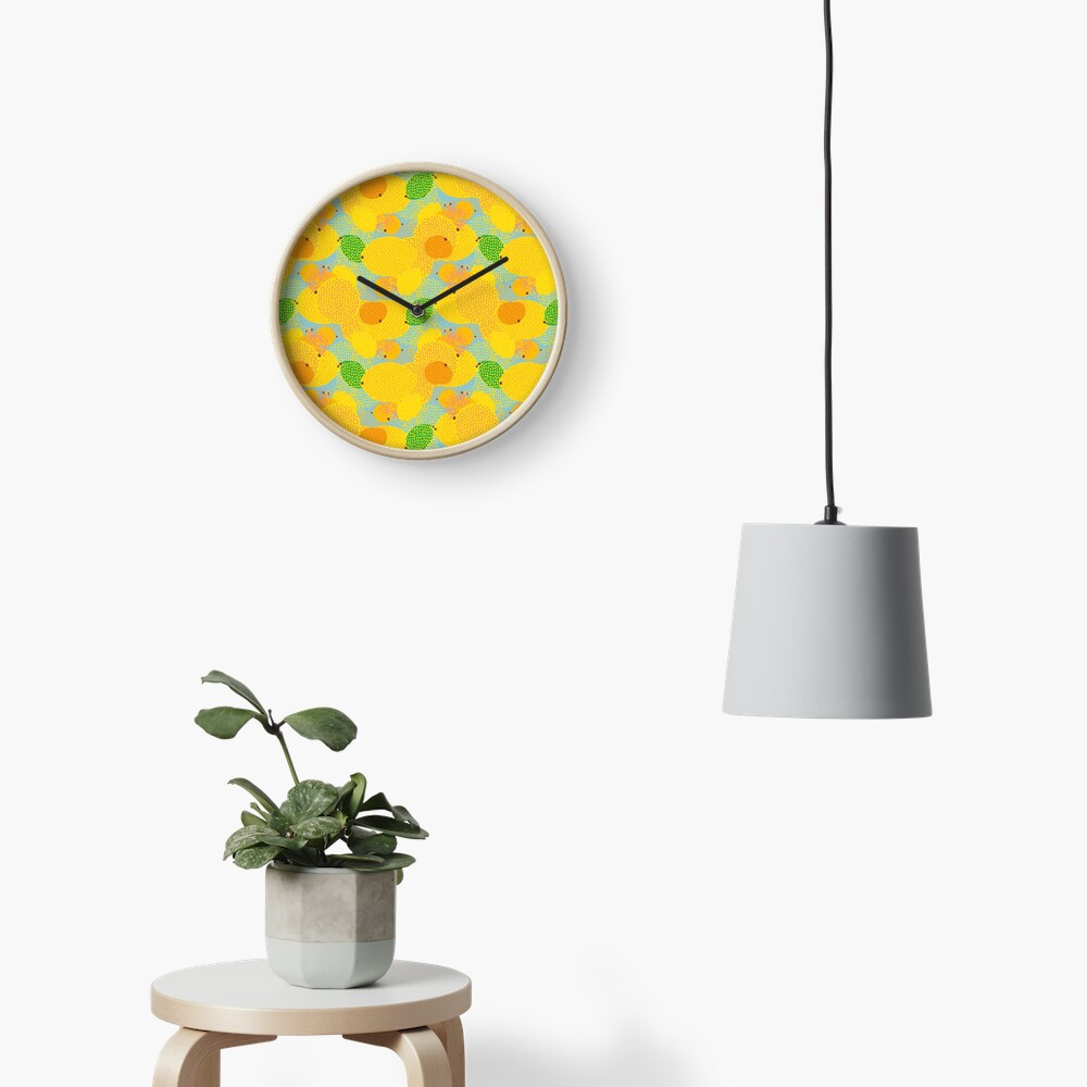 Squeezed Mix Clock