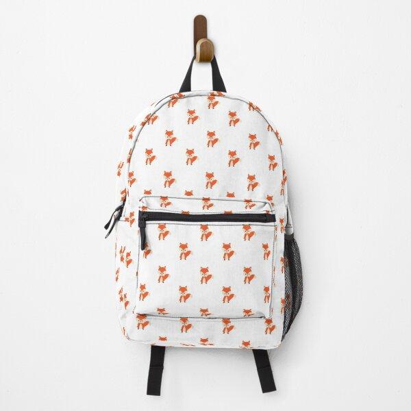 Red Fox Neck Gaiter Fox Neck Gator Backpack