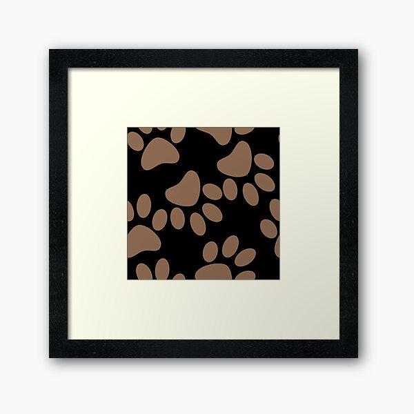 Corgi Paws Framed Art Print