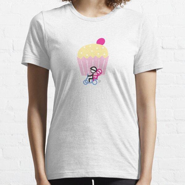 Scooter Boy series - runaway cupcake couple t-shirt Essential T-Shirt