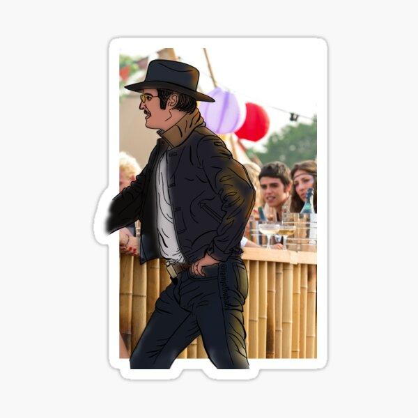 Agent Whiskey Sticker Art  Sticker