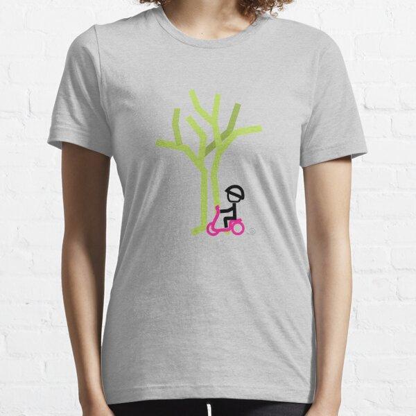 Scooter Boy series - scootin' through autumn t-shirt Essential T-Shirt