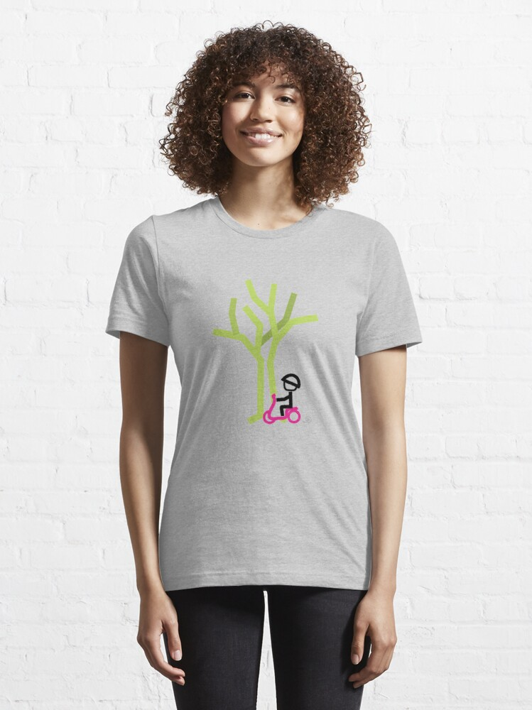 Alternate view of Scooter Boy series - scootin' through autumn t-shirt Essential T-Shirt