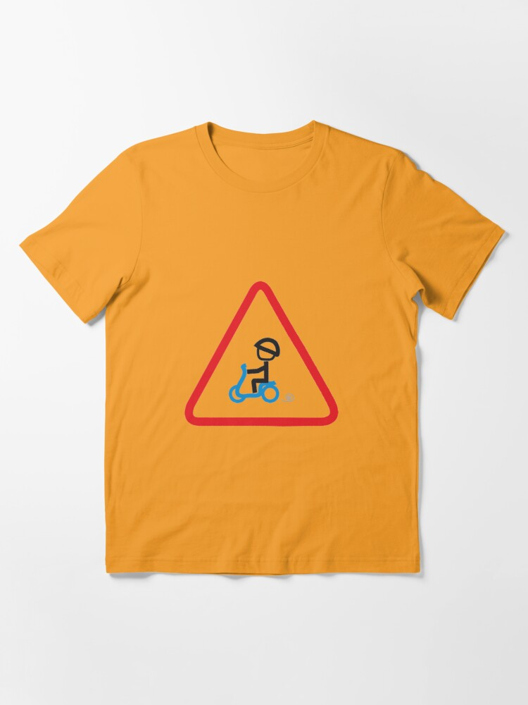 Alternate view of Scooter Boy series - yield scooter t-shirt Essential T-Shirt