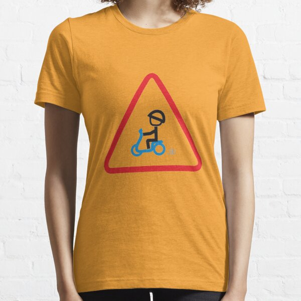 Scooter Boy series - yield scooter t-shirt Essential T-Shirt