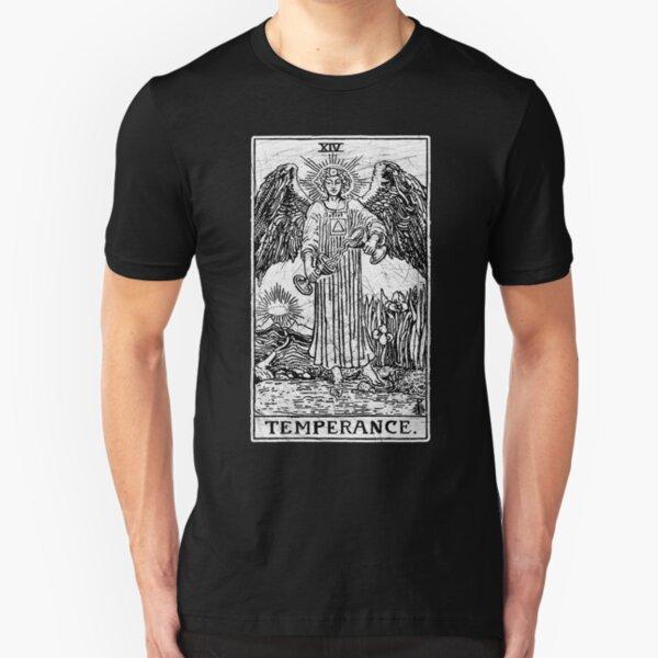 Temperance Tarot Card - Major Arcana - fortune telling - occult Slim Fit T-Shirt