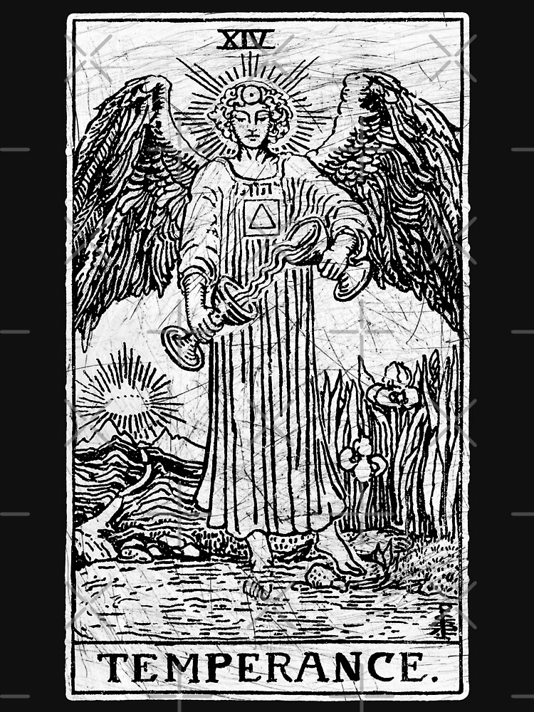 Temperance Tarot Card - Major Arcana - fortune telling - occult | Women's  Fitted Scoop T-Shirt