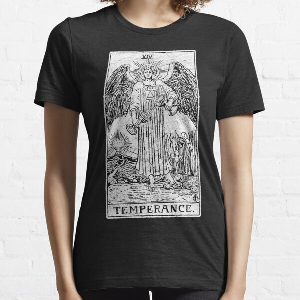 Temperance Tarot Card - Major Arcana - fortune telling - occult Essential T-Shirt