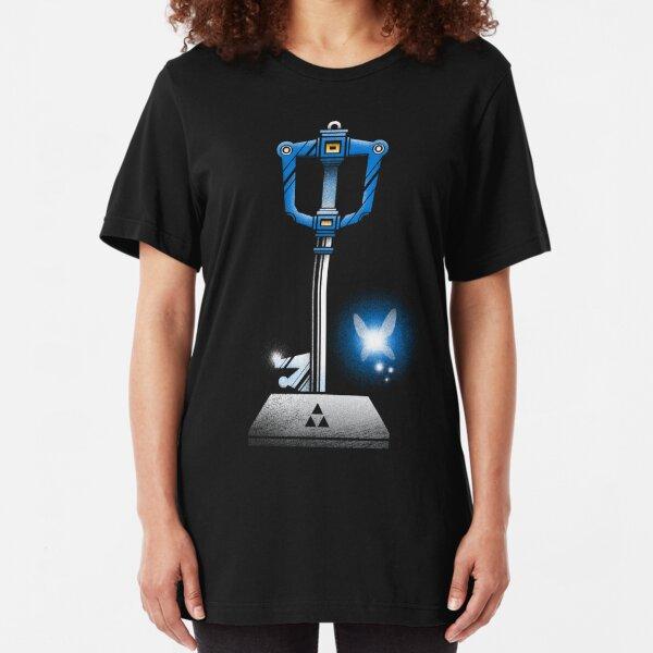 MASTER KEYBLADE Slim Fit T-Shirt