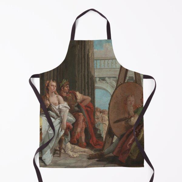 Alexander the Great and Campaspe in the Studio of Apelles - Giovanni Battista Tiepolo Apron