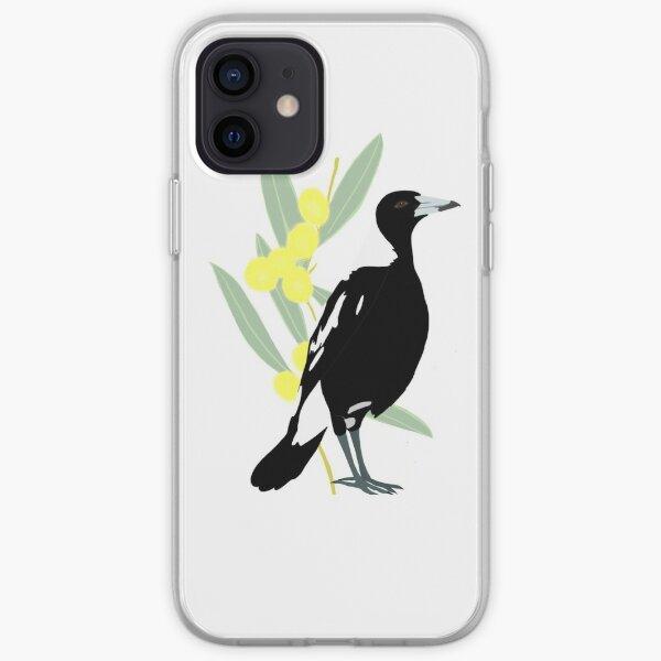 Australian magpie  iPhone Soft Case