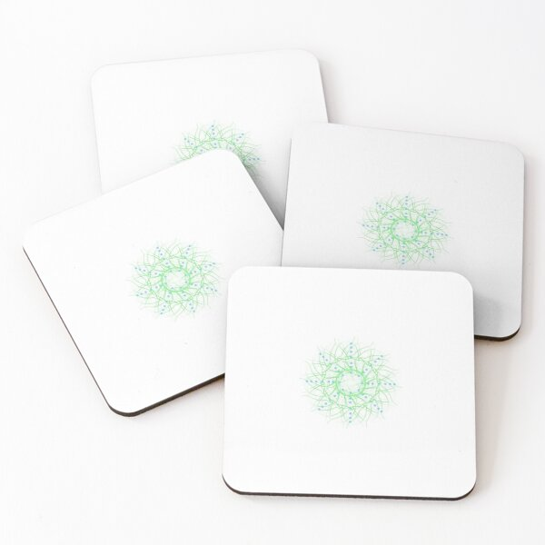 Abstract of dimensions Coasters (Set of 4)