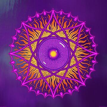 ósholo, violet dawn by peterbarreda