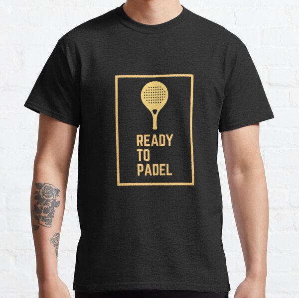 Listo para Padel B Camiseta clásica