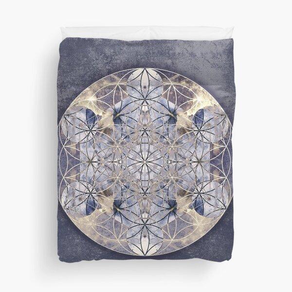Flower of Enlightenment Duvet Cover