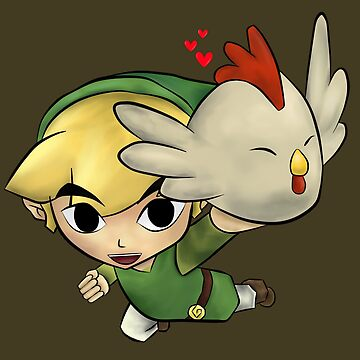 Link Found A Cucoo! by InfernoApple