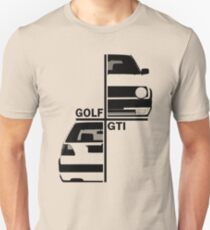 vw golf, golf gti mk2 Unisex T-Shirt