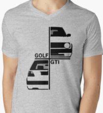 vw golf, golf gti mk2 Mens V-Neck T-Shirt