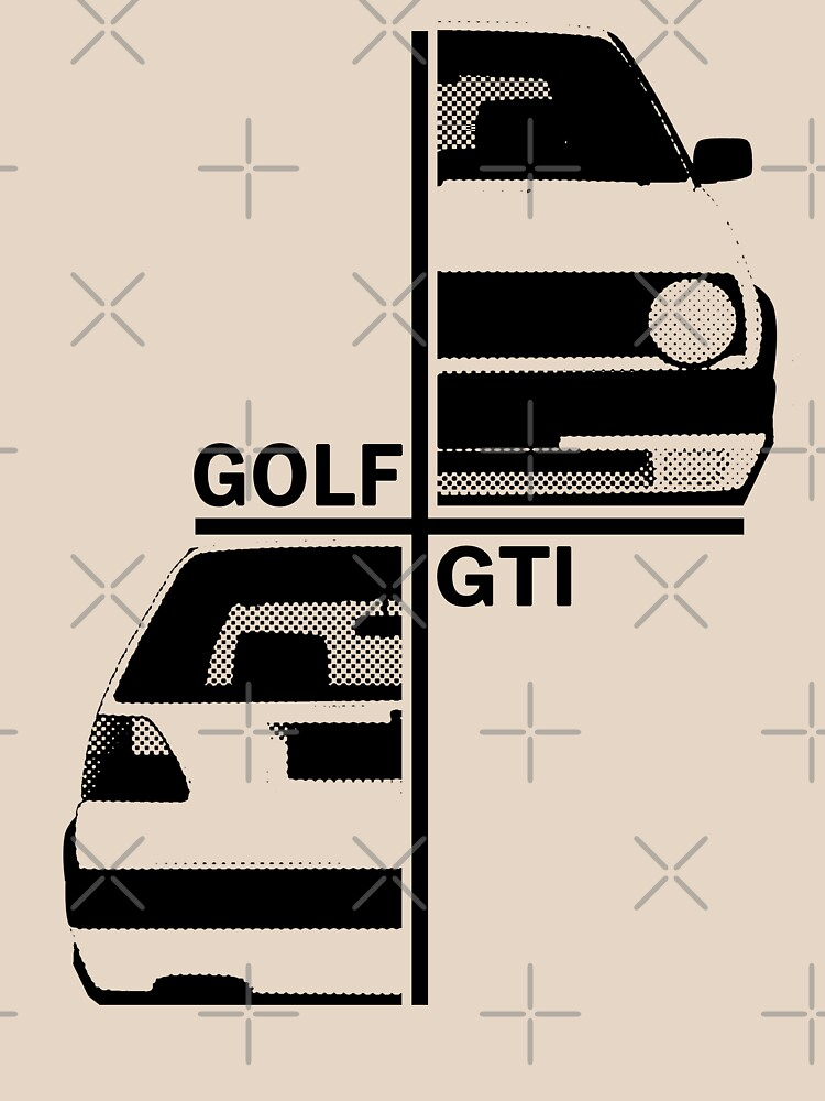 vw golf, golf gti mk2 | Unisex T-Shirt
