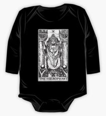 The Hierophant Tarot Card - Major Arcana - fortune telling - occult One Piece - Long Sleeve