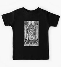 The Hierophant Tarot Card - Major Arcana - fortune telling - occult Kids Tee