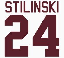 Stiles Stilinski's Jersey - maroon/red text   Women's T-Shirt