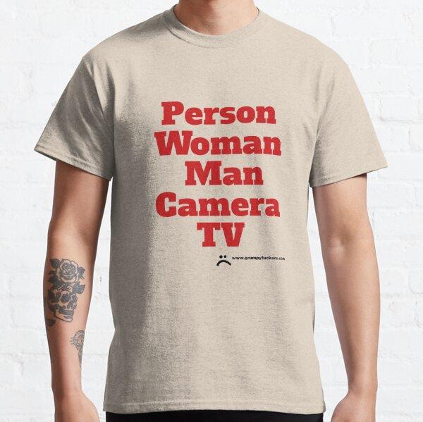 Person Woman Man Camera TV Classic T-Shirt