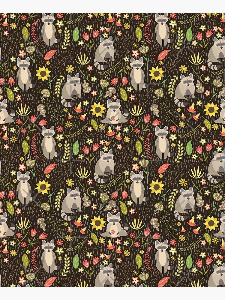Raccoons by JuliaBadeeva