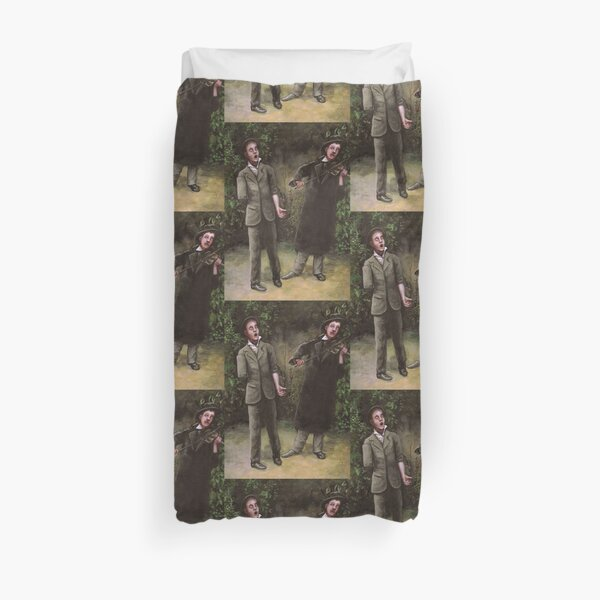 The Song of the One-Armed Man Duvet Cover