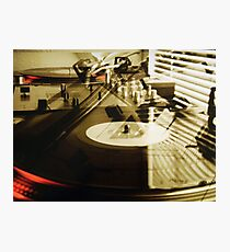 Turntables Photographic Print