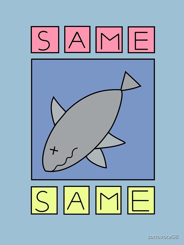 nichijou - same (shark) | Unisex T-Shirt